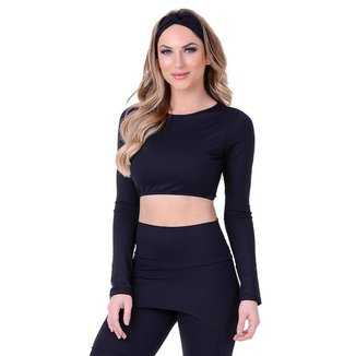 Top Cropped Fitness Summer Soul Feminino