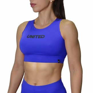 Top Cropped Fitness United - Azul - G