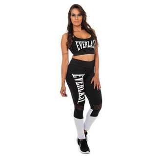 Top Everlast Fitness Multi Alças Costas Feminino