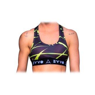 Top EVVO Lycra Crossfit Running Fitness Feminino