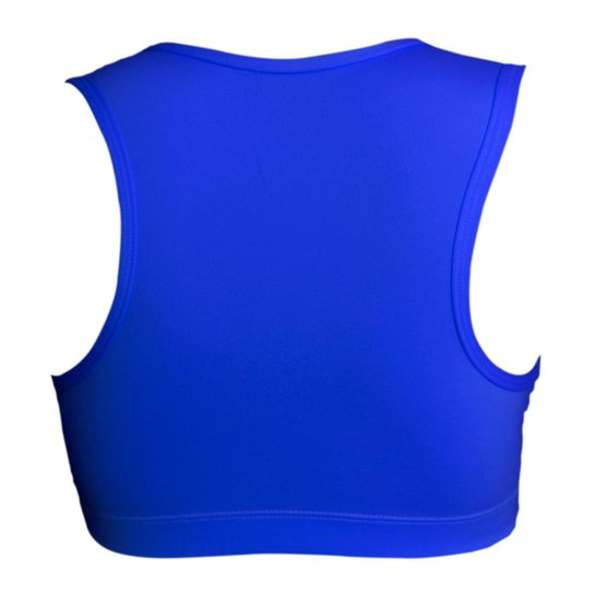 Top Feminino em Poliéster - Azul