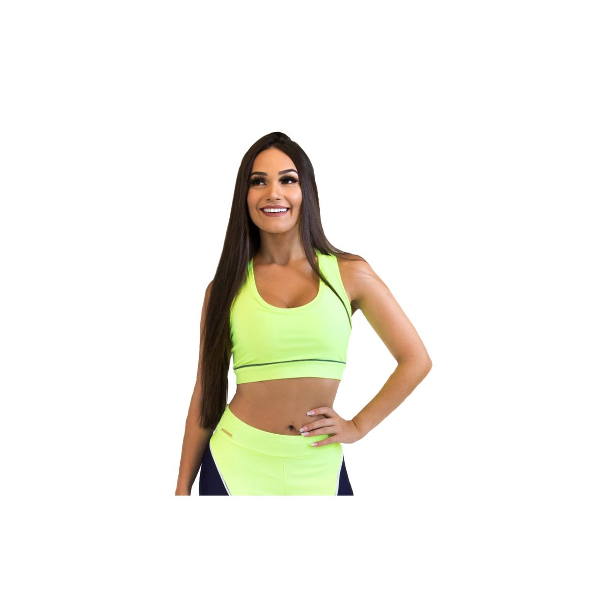 Top Training Fit Top Limão Fit Brasil Forever Verde zUwgBgdqxW