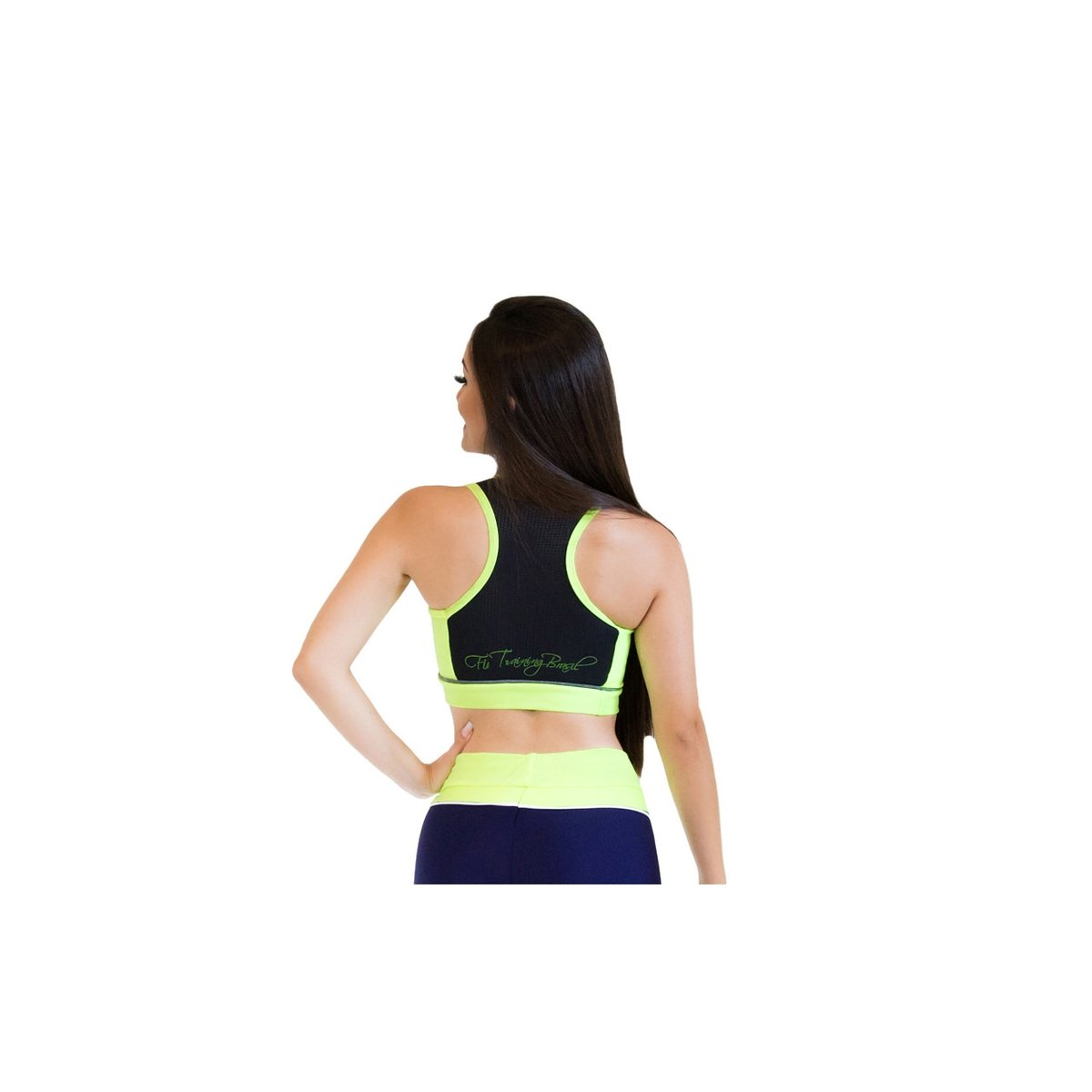 Brasil Fit Training Limão Top Top Fit Verde Forever qtEFIn4w