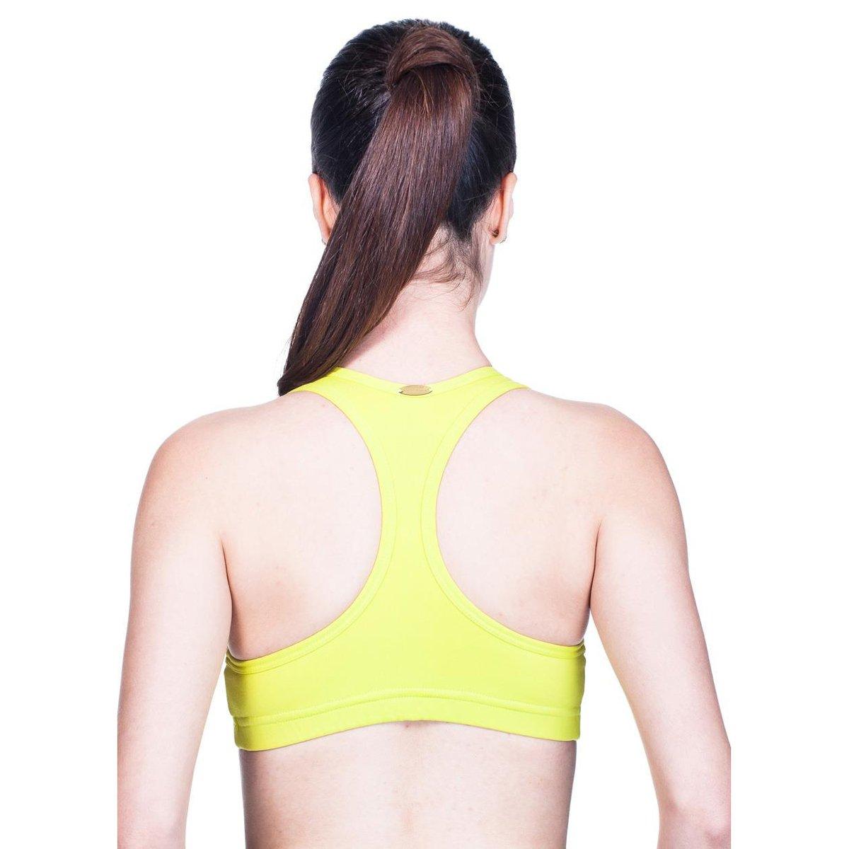Limão Supplex Supplex Ju Bo Fitness Top Fitness Bo Amarelo Amarelo Ju Top Limão qCwvETx7