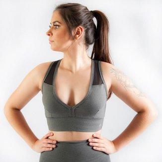 Top Fitness com Bojo Refletivo