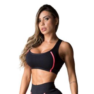 Top Fitness DMFit Chapado Flúor Feminino