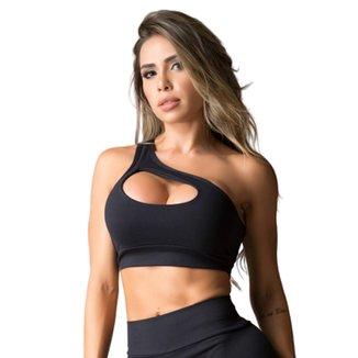 Top Fitness DMFit Decote Em Gota Feminino