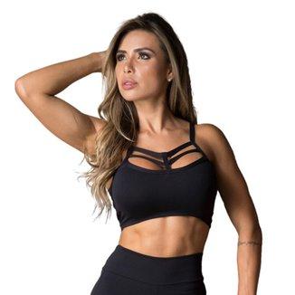Top Fitness DMFit Tiras Strappy Feminino