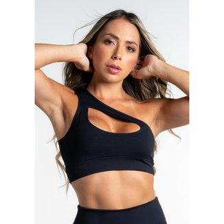 Top Fitness DMFIT Um Ombro Só