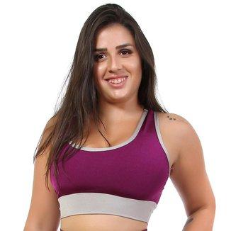 Top Fitness Go Fit Rio Bicolor Feminino
