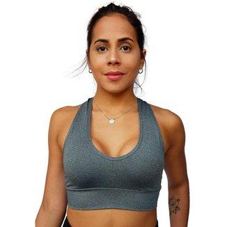 Top Fitness Sem Bojo Liso Academia Feminino