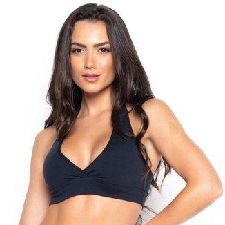 Top Fitness St Madame Preto com Costas Aberta