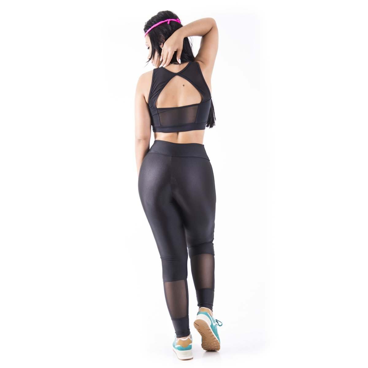 triathlon Elastic triathlon Body Latina Mama Top Elastic Latina Preto Body Top Mama 7Udwt7