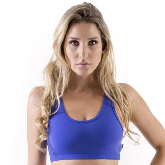 Top Mama Latina Nadador - Azul