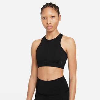 Top Nike Yoga Dri-FIT Swoosh Feminino