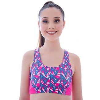 Top Rope Elite Feminino Estampado UV 50+ Esporte Conforto