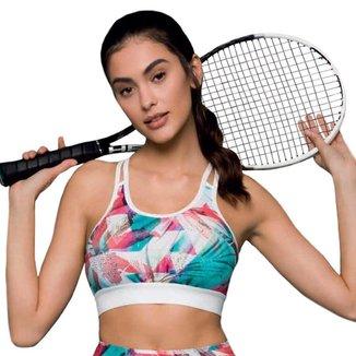 Top Selene Fitness Com Bojo Feminino