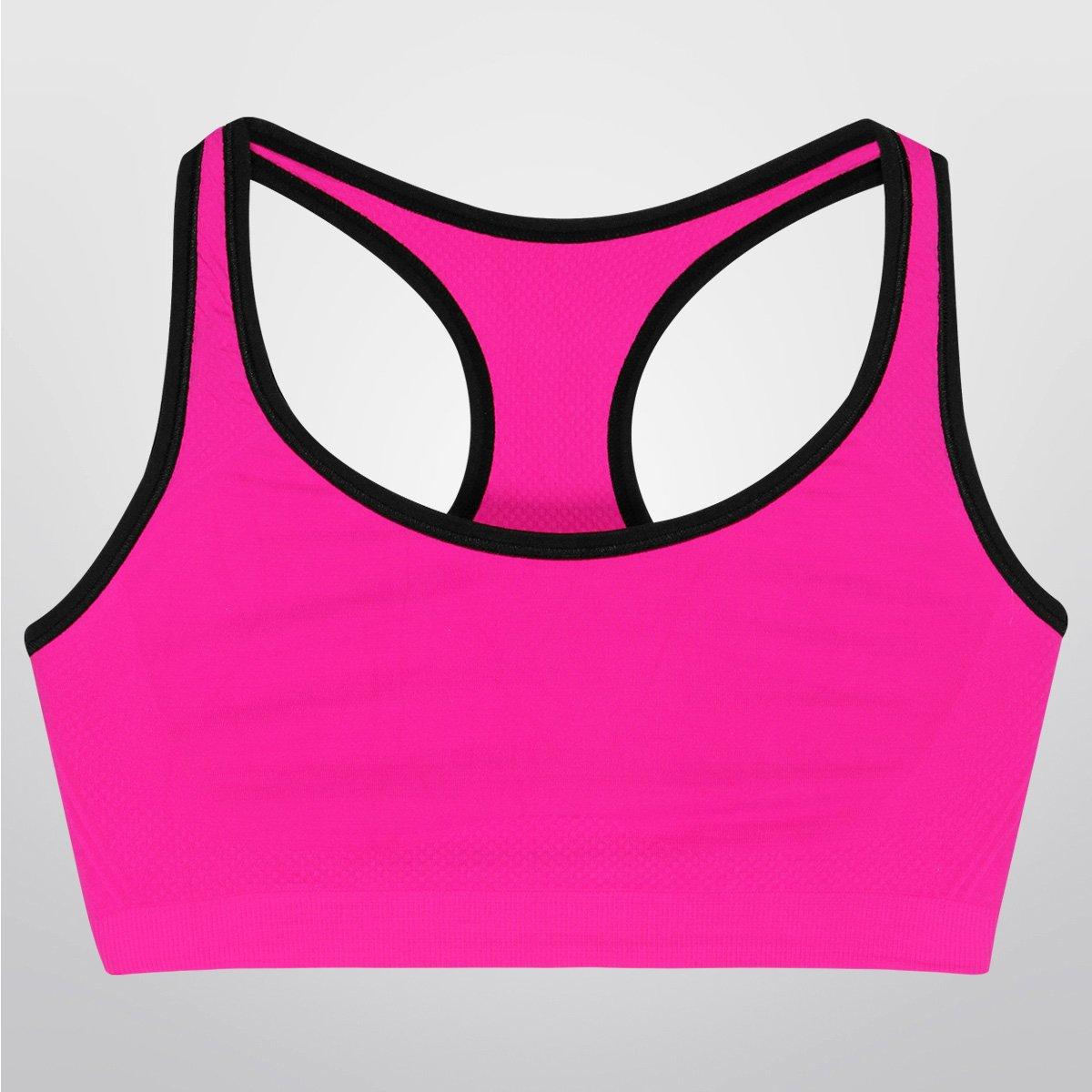 Pink Top Impacto Liz Top Sport Sport Médio OF67wq