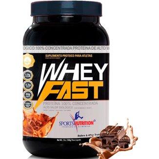 Top Whey Fast Protein Pura 908g - Eleita A Melhor Do Mercado