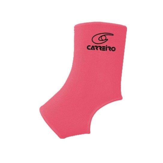 Tornozeleira Neoprene Compressão Proteção Esporte - Rosa