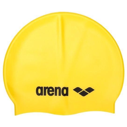 Touca de Natação Arena Classic Silicone - Amarelo