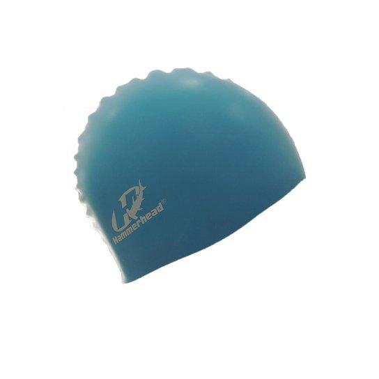 Touca De Silicone Infantil Hammerhead - Azul