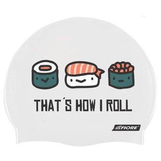 Touca para Natação de Silicone Sushi