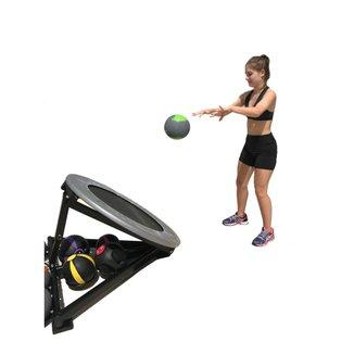 Trampolim para Medicine Ball Crossfit Treino Funcional Wct Fitness