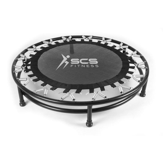 Trampolim SCS Mini Cama Elástica Profissional Jump 32 Molas - Preto