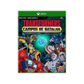 Transformers Campos de Batalha - Xbox One e Xbox Series X