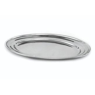 Travessa Oval Rasa Inox Trad. 20Cm - Gourmet Mix