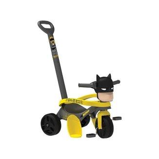 Triciclo Infantil Batman Mototico com Empurrador