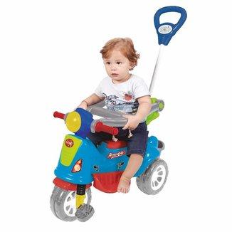 Triciclo Infantil Maral Retrô Com Empurrador