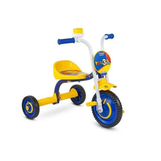 Triciclo You 3 Boys - Amarelo
