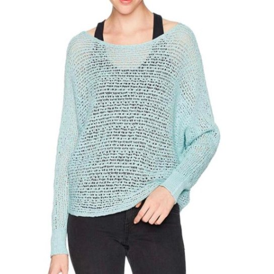 TRICOT BILLABONG DANCE WITH ME - CLEARWATER - Preto