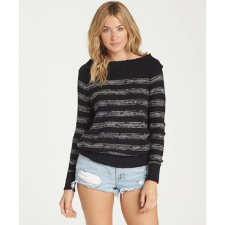 TRICOT BILLABONG SNUGGLE DOWN - BLACK