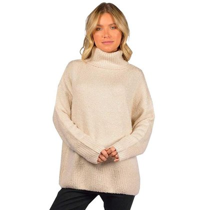 Tricot Rip Curl Lowers Roll Neck Knit