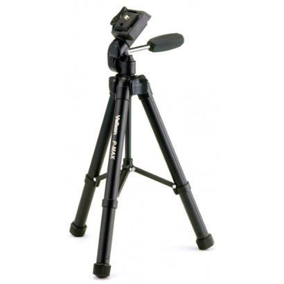 Tripé Profissional Para Câmeras Altura Máxima 1,31M - Unissex