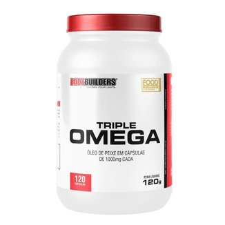 TRIPLE ÔMEGA - BODYBUILDERS 120 CAPS