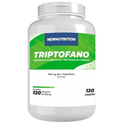 Triptofano 120 cápsulas NewNutrition