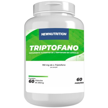 Triptofano 60 cápsulas NewNutrition