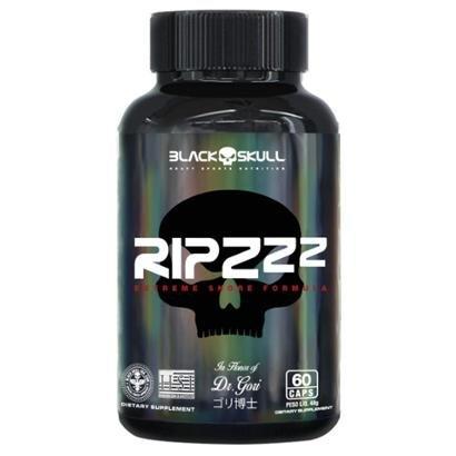 Triptophano RIPZZ 60 Cápsulas - Black Skull - Qualidade de Sono - Unissex