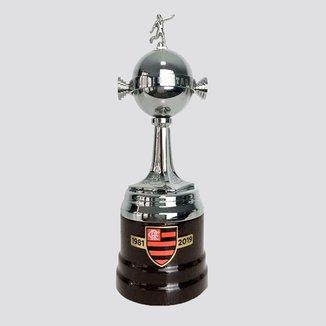 Troféu 3D Flamengo Copa Libertadores 23cm 2019
