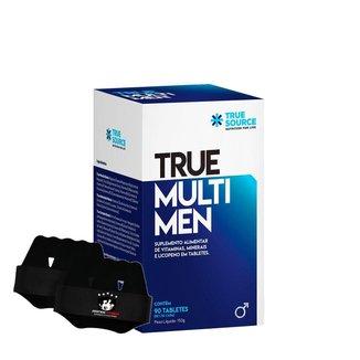 True Multi Men + Luva - True Source - Multivitamínico