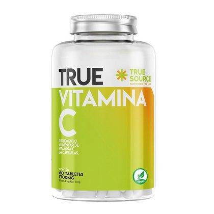 True Source Vitamina C 1000mg - 60 Tabletes