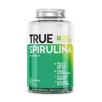 True Spirulina 450mg 120 Caps - True Source