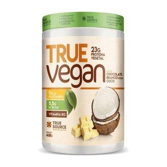 TRUE VEGAN 418G - TRUE SOURCE (CHOCOLATE BRANCO COM COCO)