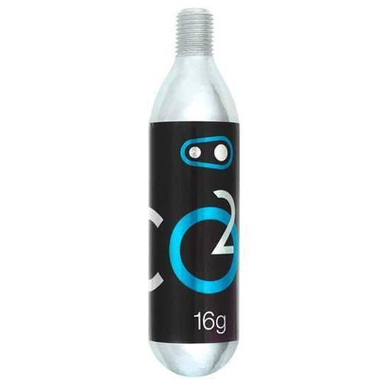 Tubo Co2 16G Comprimido Crankbrothers - Cinza
