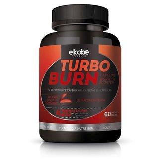 Turbo Burn Ekobé Suplemento Energético Cafeína 60 Cápsulas