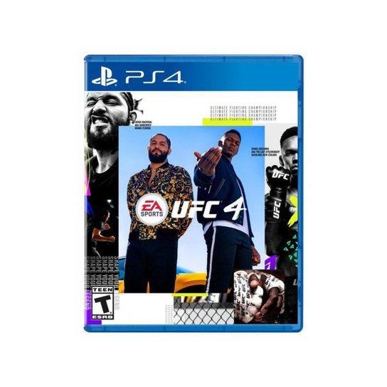 UFC 4 para PS4 EA Sports - Azul